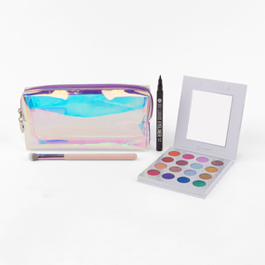 Opallusion: Mystic Palette, Liner, Brush, and Bag Set by BH Cosmetics