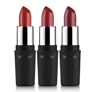 Red Trio Matte Lipstick by Mented Cosmetics