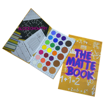 The Matte Book Palette by thecrayoncase