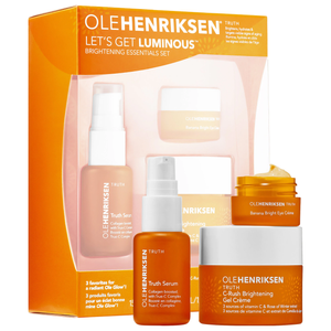 Let's Get Luminous Brightening Vitamin C Essentials Set by ole henriksen