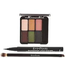 Ultimate Eye Palette With Liner & Dual Brush by eve pearl