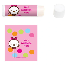 Personalized Lip Balm by hello kitty