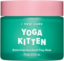 Yoga Kitten Balancing Heartleaf Clay Mask by I Dew Care