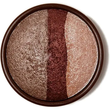 Makeup Baked Eyeshadow Trio Gold Glow Color Gold by stila
