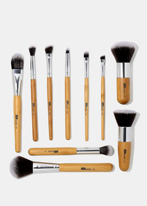 A+: 10-Piece Bamboo Brush Set by Shop Miss A