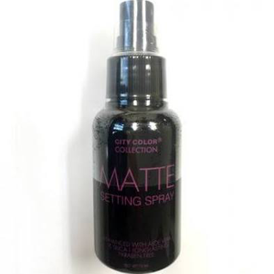 Matte Setting Spray by city color