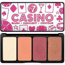 Casino Blush Highlight & Contour Palette by w7