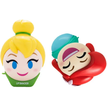 Emoji Lip Balm Duo - Tinkerbell & Ariel by lip smacker