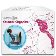 Makeup Organizer Arranges Makeup Brushes And Cosmetics Compartment by acrylicase