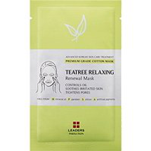 Teatree Relaxing Renewal Mask by Leaders