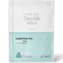 Soothing Layering Double Sheet Mask by make prem