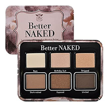 HD Color Eyeshadow Palette – Better Naked by Ruby Kisses