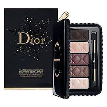 Glow & Smoky Contrast Color Design Holiday Eye Palette by Dior