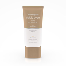 Visibly Even Daily Moisturizer with Sunscreen Broad Spectrum SPF 30 by Neutrogena