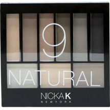Perfect 9 Natural Eyeshadow Palette by Nicka K