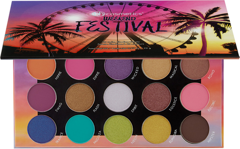 Weekend Festival 20 Color Shadow Palette by BH Cosmetics #2