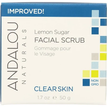Clarifying Facial Scrub Lemon Sugar by andalou naturals