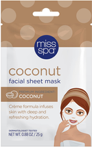 Coconut Facial Sheet Mask by miss spa