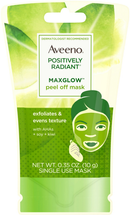 Positively Radiant Maxglow Peel Off Exfoliating Face Mask by Aveeno