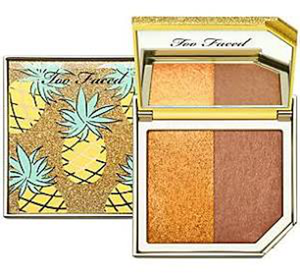 Strobing Bronzer Highlighting Duo Toasted Pine by Too Faced