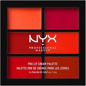 Pro Lip Cream Palette - The Reds by NYX Professional Makeup
