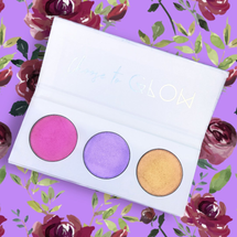 Highlighter Trio Palette - FLOURISH by Love Luxe Beauty