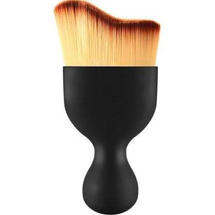 Wave Curved Tip Contouring Makeup Face Brush by Zodaca