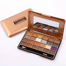 Natural Shimmer Eyeshadow Palette by miss rose