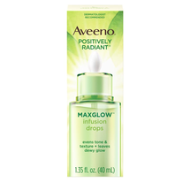 Positively Radiant With Soy Complex Moisturizing Facial Serum by Aveeno