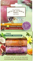 With Tropical Vanilla Coconut Orange Cream Pomegranate Acai by out of africa