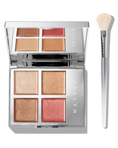 Accent Light Duo Highlighter Palette & Brush Set by Jaclyn Cosmetics