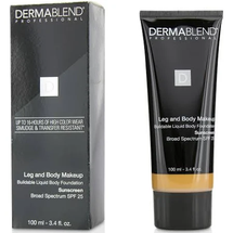 Leg And Body Makeup Medium Bronze Tube by dermablend