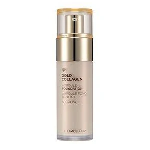 Gold Collagen Ampoule Foundation SPF30 PA++ by The Face Shop