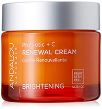 Brightening Probiotic + C Renewal Cream by andalou naturals