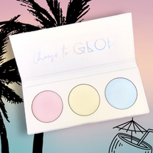 Highlighter Trio Palette - SO TROPICAL by Love Luxe Beauty