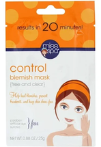 Facial Sheet Mask Control Blemish by miss spa