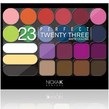 Perfect 23 Matte Colors Palette - AP035 by Nicka K