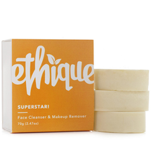 Superstar! Solid Face Cleanser & Makeup Remover by Ethique