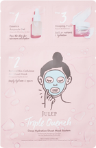 Triple Quench Deep Hydration Sheet Mask System by julep