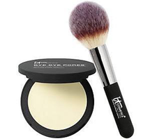 Bye Bye Pores Pressed Silk Airbrush Powder With Brush by IT Cosmetics