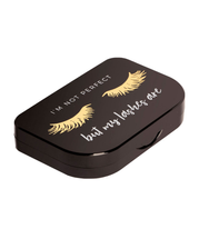 I'm Not Perfect Lash Storage Case by lilly lashes