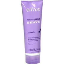 Moisturizing Shave Cream Unscented Tube by alba