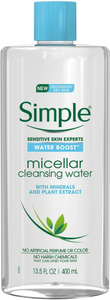 Water Boost Micellar Cleansing Water by Simple