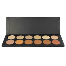 12-Color Dual Finish Foundation Powder Palette by graftobian