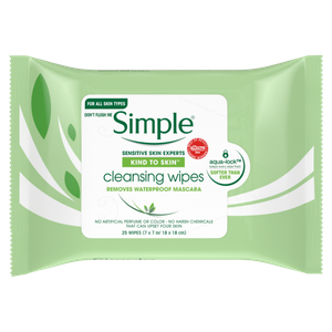 Kind To Skin Cleansing Facial Wipes by Simple